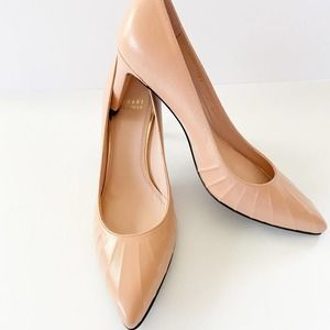 STUART WEITZMAN Nude Leather Pumps sz 7N
